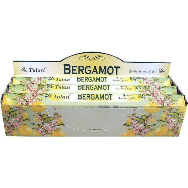 Bergamote boite d'encens tulasi 20 gr