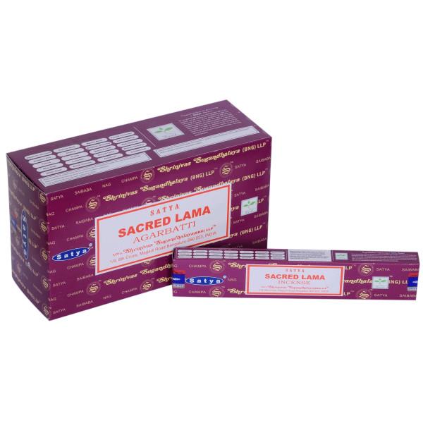 Encens bâtons Satya sacred lama 15 g