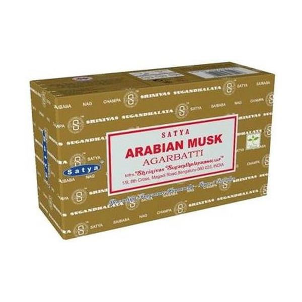 Encens batons satya arabian musk 15 gr