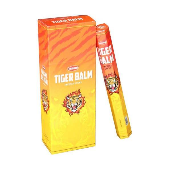 Encens batons krishan tiger balm de 20 gr