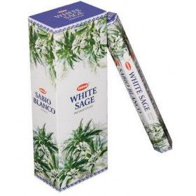 Batons d'encens krishan sauge blanche 20 gr