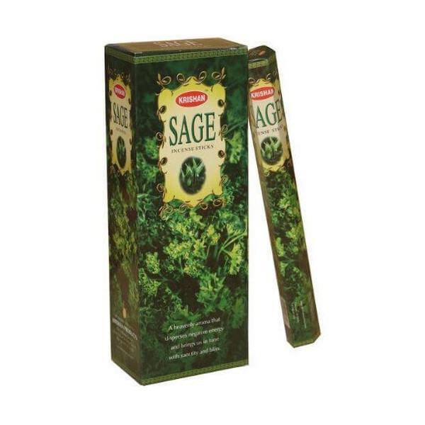 Batons d'encens krishan sauge (sage) 20 gr
