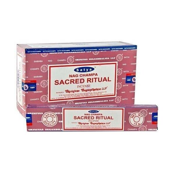 Encens batons satya rituel sacré 15 gr