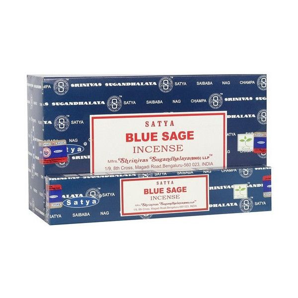 Räucherstäbchen Satya Blue Salbei 15 gr