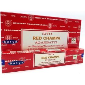 Räucherstäbchen Satya Red Champa 15 gr