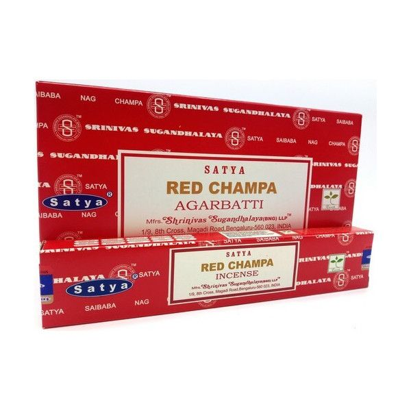 Encens batons satya red champa 15 gr