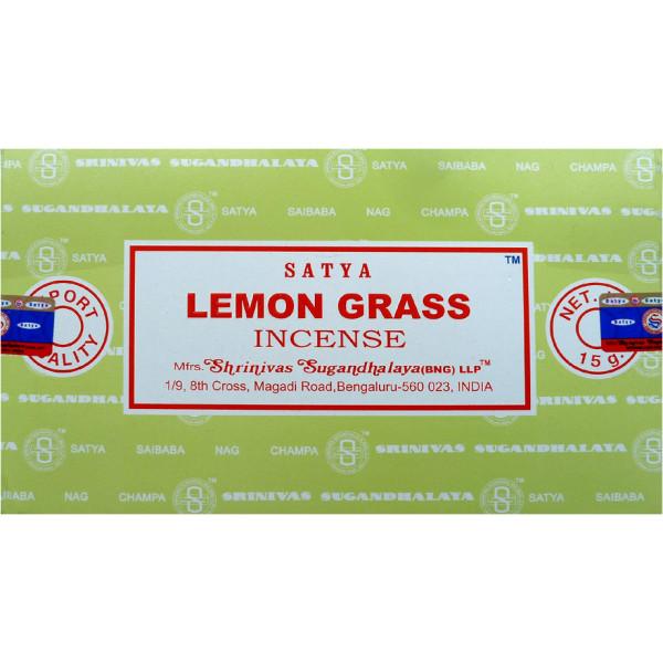 Encens bâtons Satya lemon grass 15 g