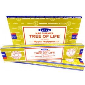 Encens bâtons Satya arbre de vie 15g