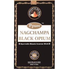 Räucherstäbchen Ppure Nagchampa schwarzes Opium