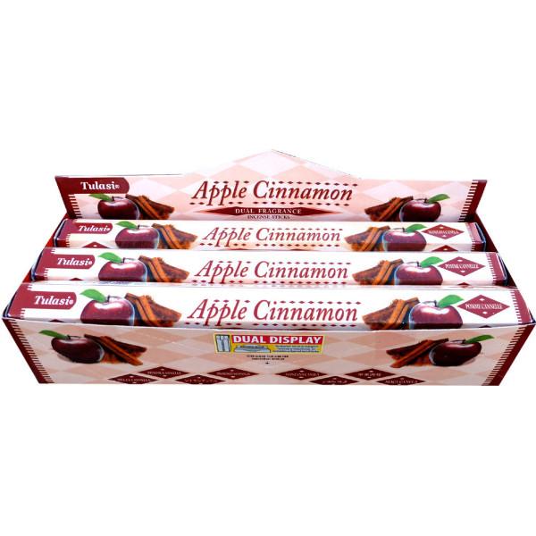 Boite d'encens Tulasi pomme cannelle 20 gr