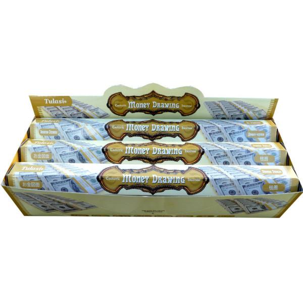 Boite d'encens Tulasi money drawing 20 gr