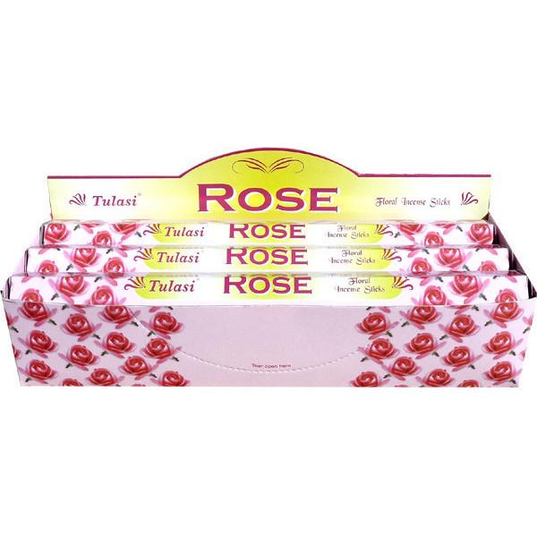 Boite d'encens Tulasi rose 20 gr