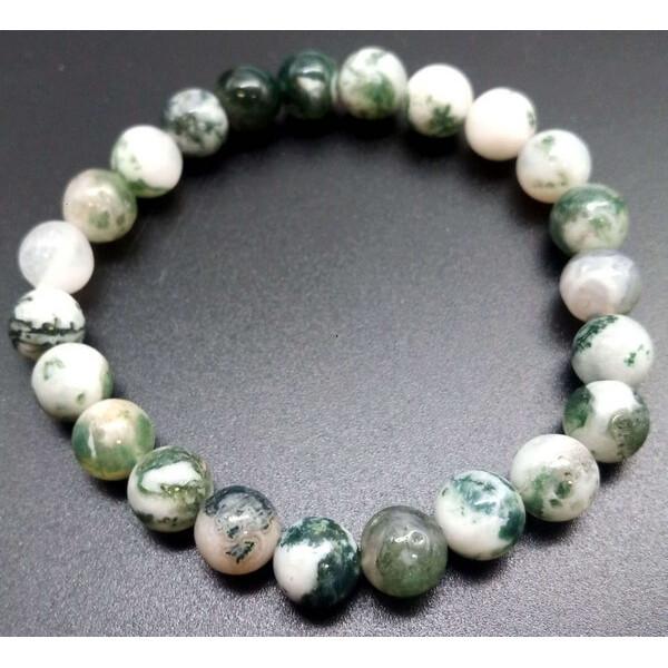 Achatbaum Armband