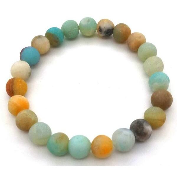 Bracelet Amazonite multicolore