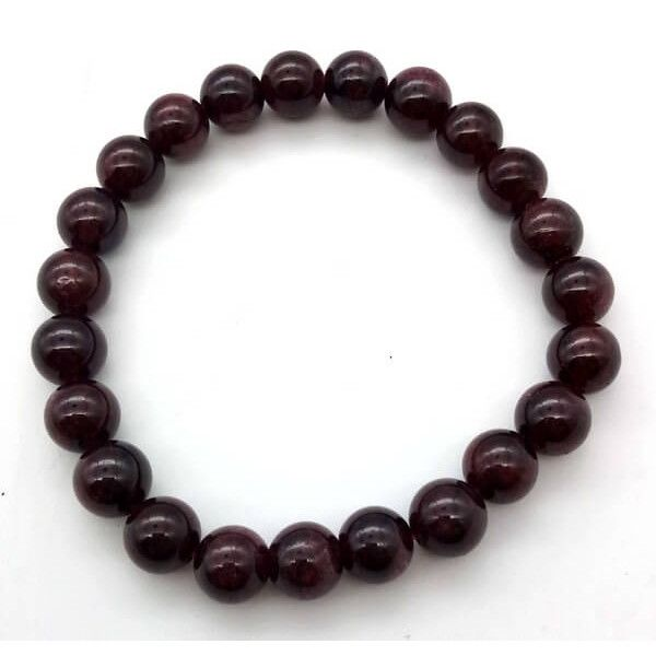 Bracelet Grenat perles