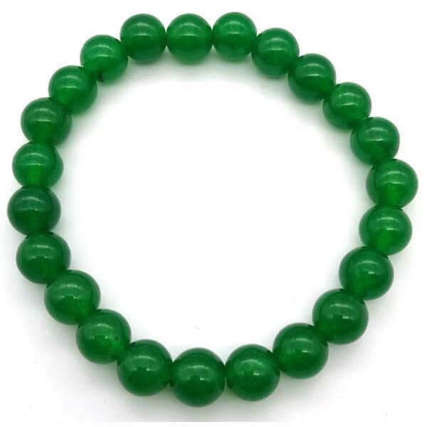 Grünes Jade-Armband