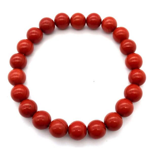 Rotes Jaspisarmband