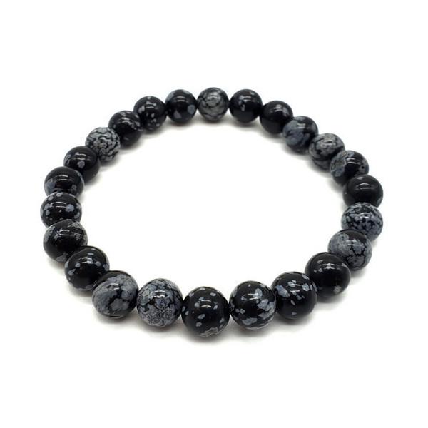 Schnee Obsidian Armband