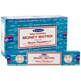 Encens batons satya money matrix 15 g
