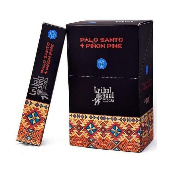 Encens Bâtons Tribal Soul palo santo & pin