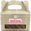 Backflow cônes sauge blanche encens satya