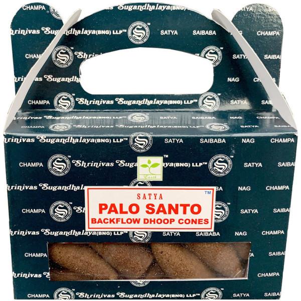 Rückflusskegel Palo Santo Weihrauch Satya