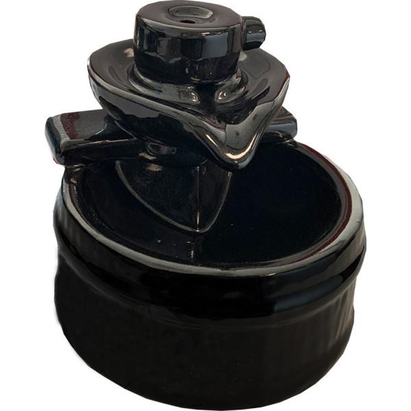 Keramik Bakcflow Brunnen Weihrauchhalter