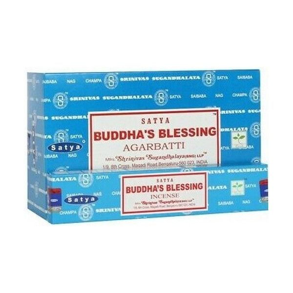 Encens batons satya bouddha blessing 15 gr