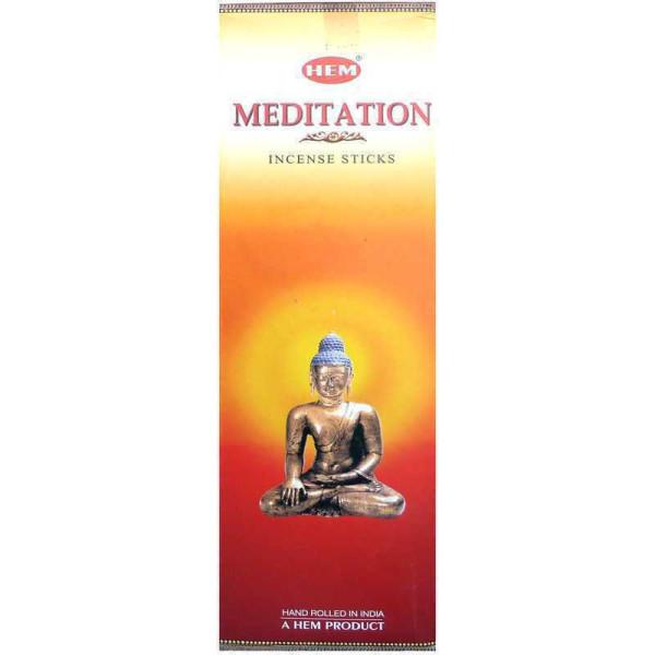 Räucherstäbchen Hem Meditation 10 gr