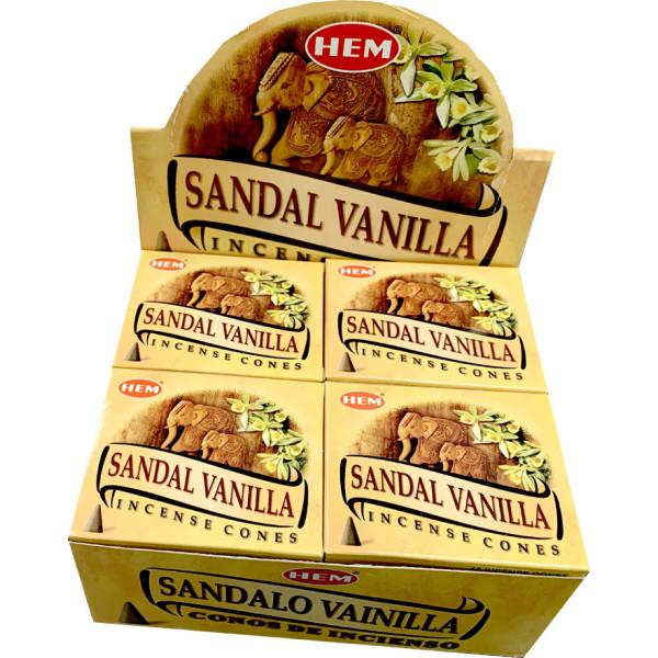 Encens cônes hem santal vanille