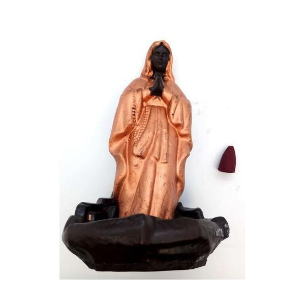 Porte encens bakcflow céramique Vierge Miraculeuse