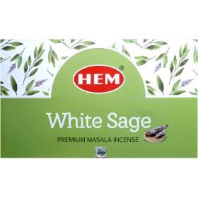 Encens hem sauge blanche 15 grammes
