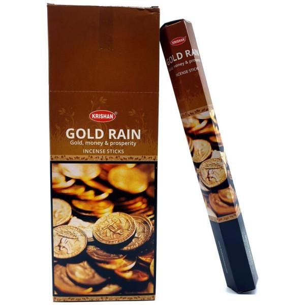 Encens krishan gold rain de 20 gr