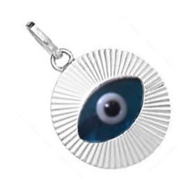 protection de l'oeil bleu
