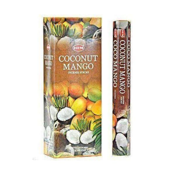 Encens bâtons hem mangue coco 20 grammes