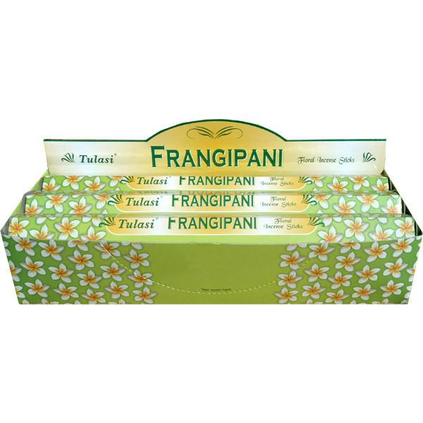 Boite d'encens Tulasi frangipanier 20 gr