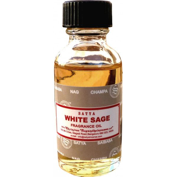 Huile parfumée Satya sauge blanche