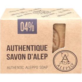 Savon d'Alep à 4 % d'huile laurier en 200 gr