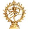 Statuette Shiva en laiton 16 cm.