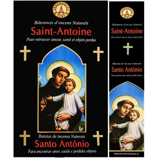 Encens bâtons fragrance & sens Saint Antoine 15 gr