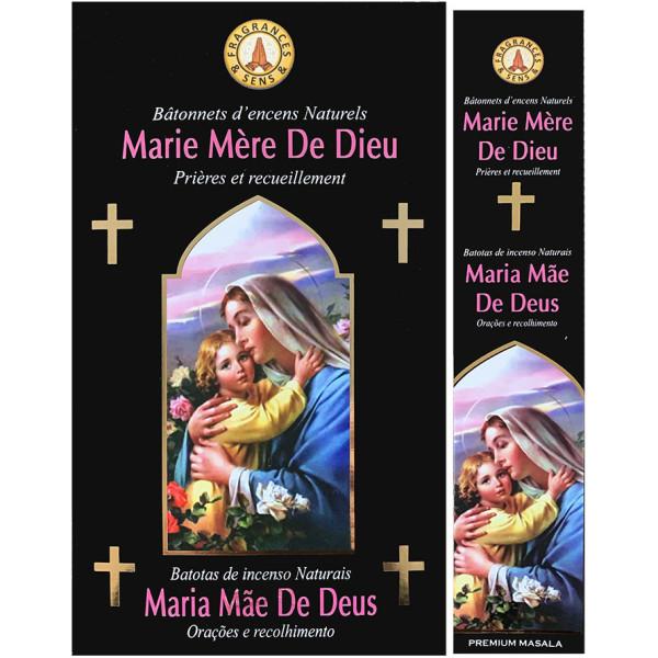 Encens bâtons fragrance & sens Marie mère de Dieu 15 gr