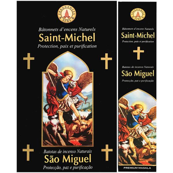 Encens bâtons fragrance & sens Saint Michel 15 gr