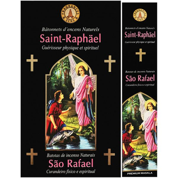 Encens bâtons fragrance & sens Saint Raphael 15 gr