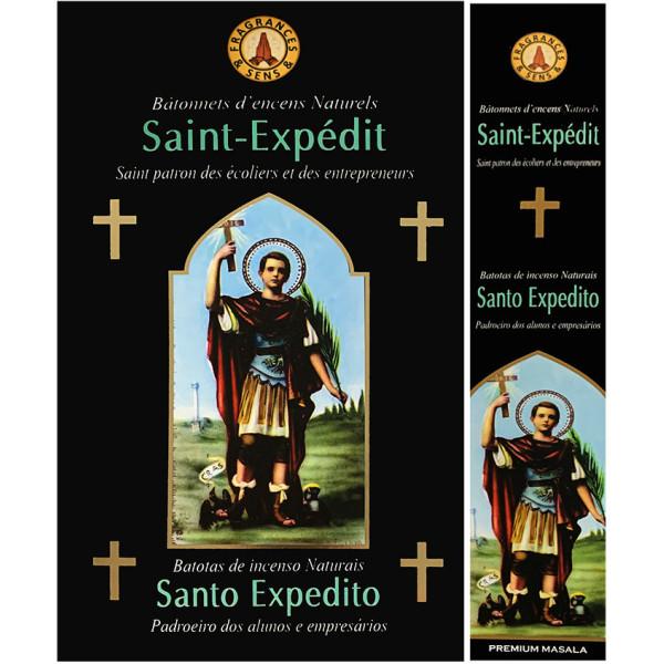 Encens bâtons fragrance & sens Saint Expédit 15 gr