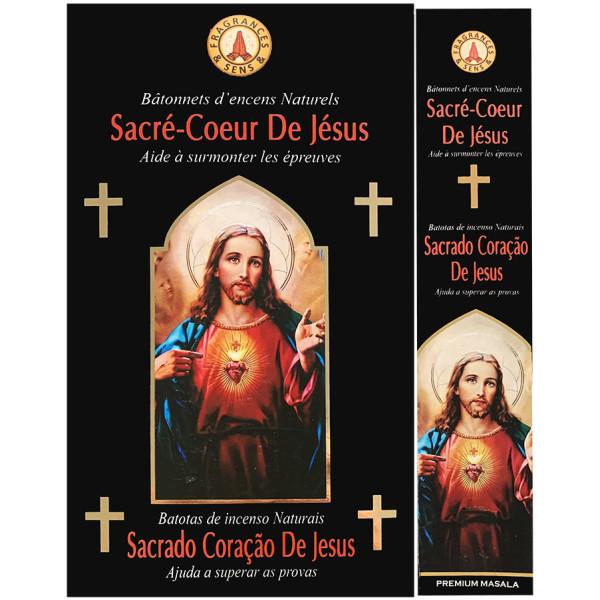 Encens bâtons fragrance & sens sacré coeur de Jésus 15 gr