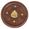 Porte encens batons en bois et laiton motif ganesh