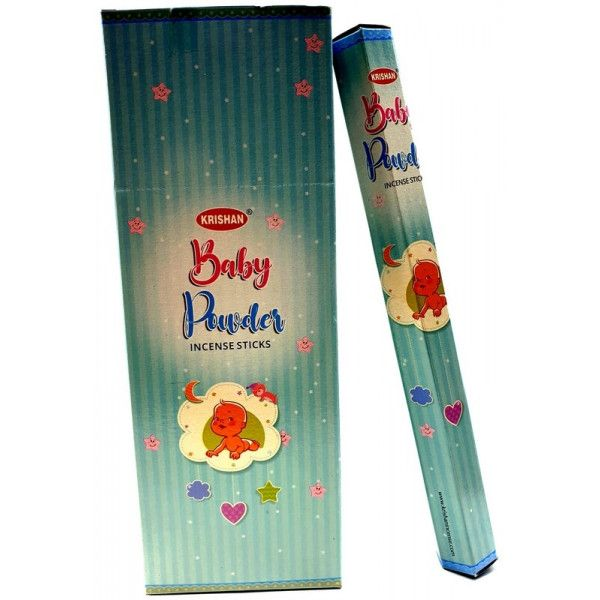 Batons d'encens krishan baby powder 20 gr