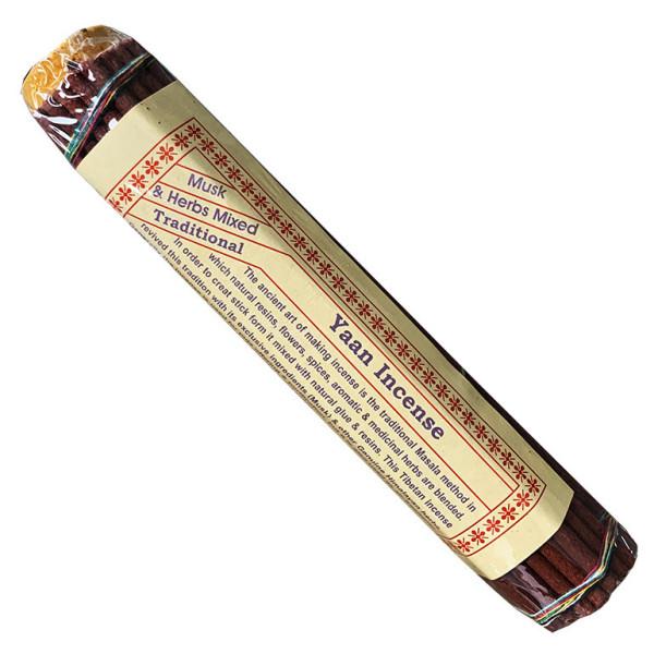 Encens bâtons Tibétain  Yaan