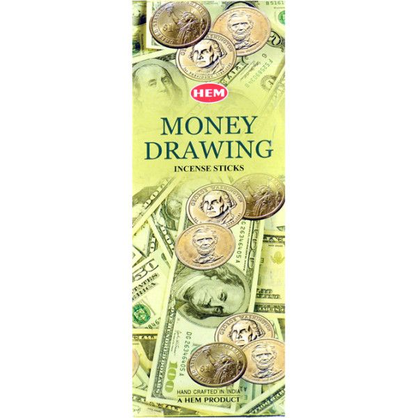 Encens hem money drawing 20 gr