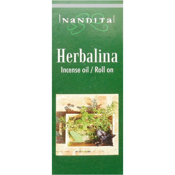 Huile parfumée nandita herbalina